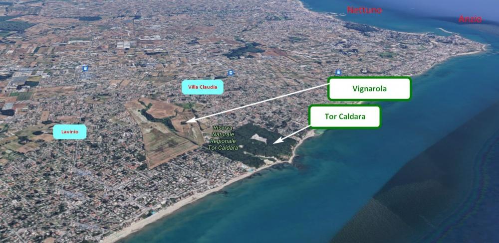 Tor Caldara e Vignarola